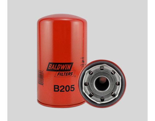 B205 Full-Flow Spin-on Oil Filter Baldwin (see below for models)