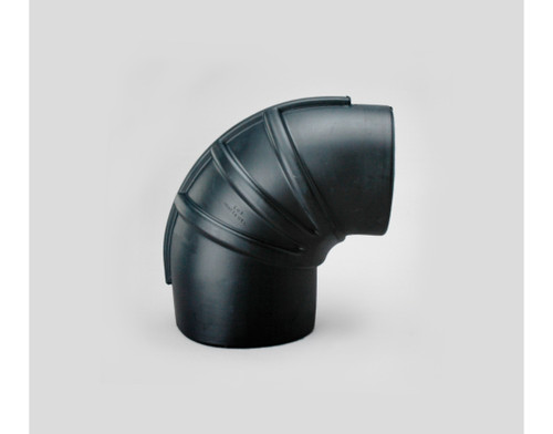 """P215307 Donaldson Heavy Duty Rubber 90° Elbow Reducer (152mm / 6"""")"""