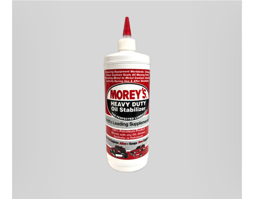 00001-OS Morey's Heavy Duty Oil Stabilizer Crankcase Supplementary Oil 1L Bottle