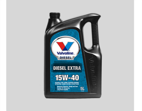 1087.57 Valvoline Diesel Extra Engine Oil 5.0L for Heavy Duty Diesel Engines