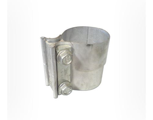 "TCL250 Lap Type Seal Clamp Aluminised Steel (To suit 2½"" pipe)"