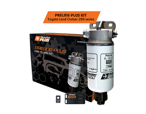 PL615DPK Toyota Landcruiser 200 Series 4.5L 1VD-FTV - Mann Direction-Plus PreLine Pre-Filter Kit