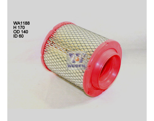 WA1188 Wesfil Air Filter for Chrysler (Cross Ref: A1827)