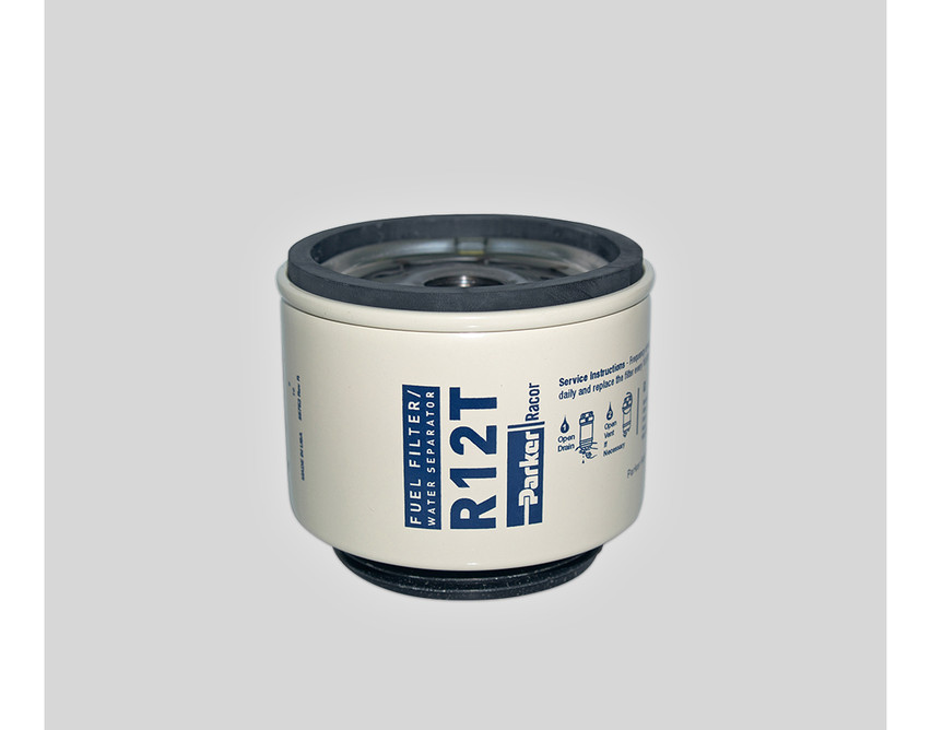 2 Racor Fuel Filter Replacement Element 10 Micron R12T