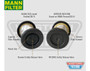 OS-PROV-01 Hilux Toyota Hilux N70 (2008-15) 3.0L D4D KUN16 KUN26 with ABS - Vehicle Specific ProVent Catch Can Kit