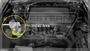Toyota Landcruiser 70 Series 2007-on - Suits both Single and Dual Battery - ProVent Oil Catch Can Dual Bracket Kit OS-PROV-30B
