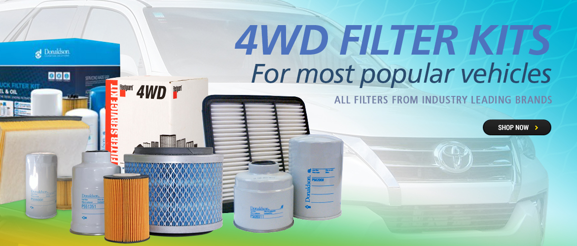 Vehicle Specific 4WD Filter Kits