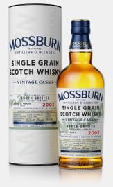 North British 2003 15 Year Old Vintage Casks #24 Mossburn