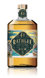 Rathlee Distilling, 3 year old Golden Rum