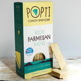 Popti Rich Parmesan Thins