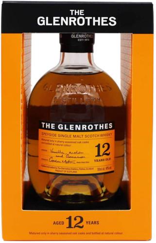 The Glenrothes 12 Year Old Speyside Single Malt Scotch Whisky