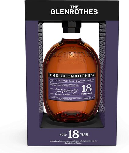 The Glenrothes 18 Year Old Speyside Single Malt Scotch Whisky