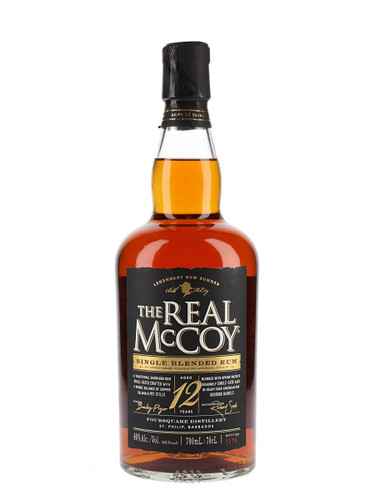 The Real McCoy 12 year old Distillers Proof Rum
