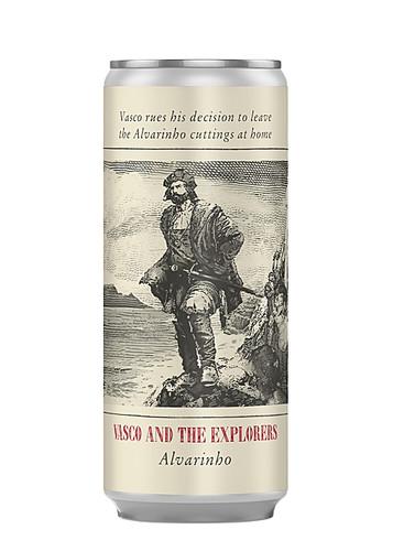 Vasco & The Explorers Alvarinho - 250ml can
