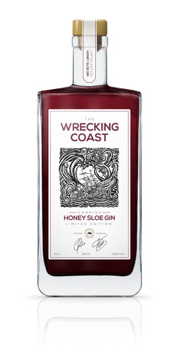 Wrecking Coast Honey Sloe Gin