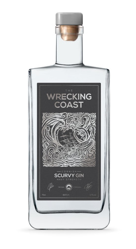 Wrecking Coast Scurvy Gin Navy Strength
