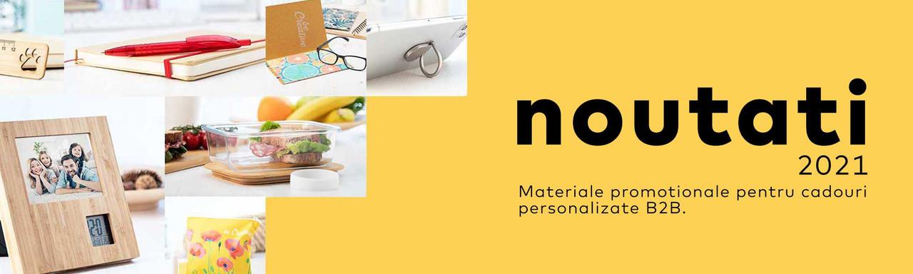 Noutati in gama de materiale promotionale pentru cadouri personalizate B2B