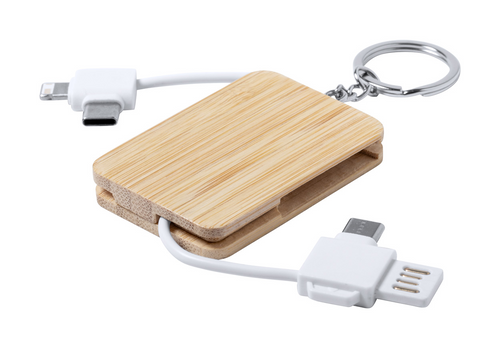 Rusell - keyring USB charger cable