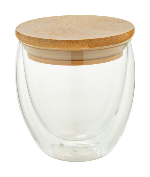 Bondina S - glass thermo mug