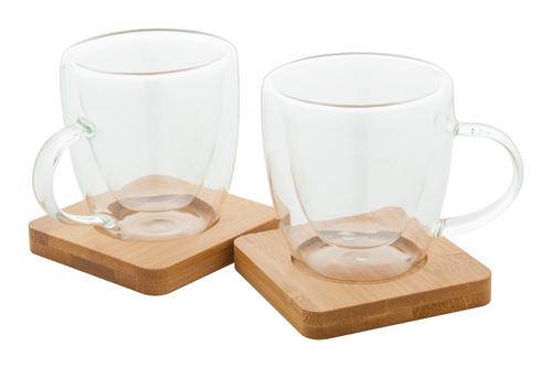 Mocaboo - glass espresso cup set
