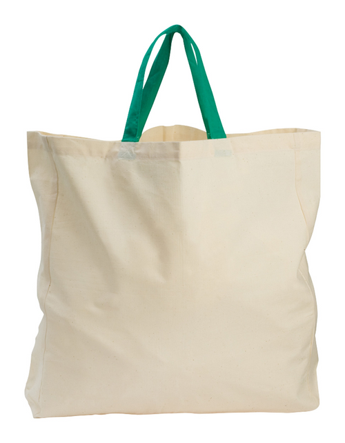 Shopping bag made of organic cotton, 140 g/m².