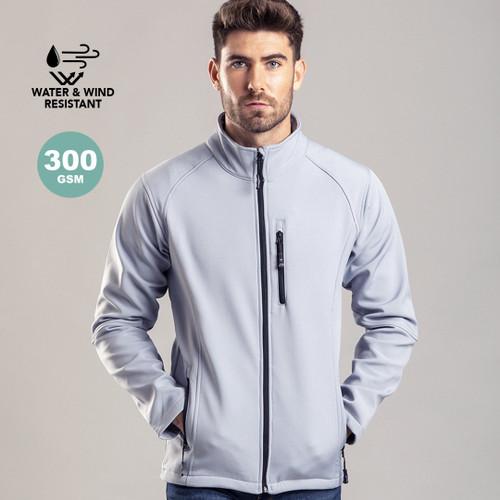 Jachetă impermeabila fabricata din poliester si elastan softshell cu posibilitate de personalizare, goodie bags