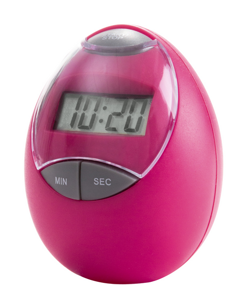 Holly, cronometru si ceas de bucatarie din plastic, cu afisaj digital si cu posibilitate de personalizare corporate
