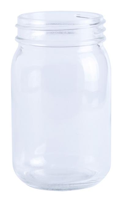 Drunax, pahar tip borcan, cu capacitate 310 ml si cu posibilitate de personalizare corporate