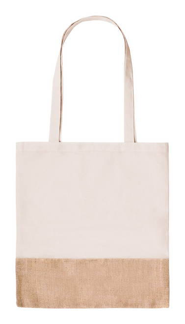 jute and cotton tote bag | GoodieBags