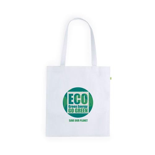 Bamboo fiber shopping bag with long handles, 105 g/m² | GoodieBags