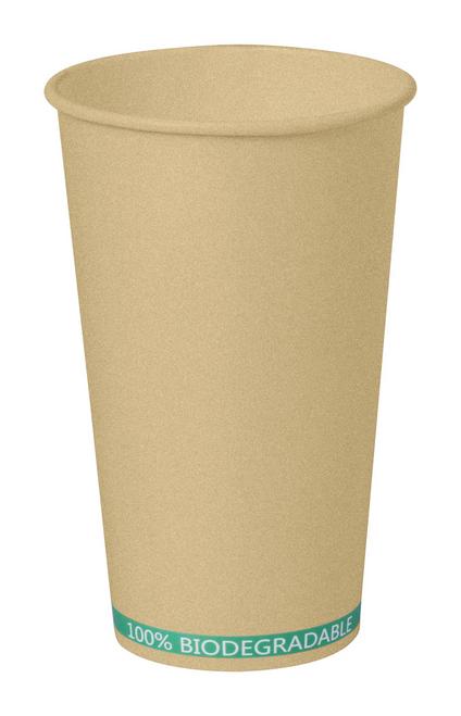 Hecox, pahar de unica folosinta din material 100% biodegradabil, cu posibilitate de personalizare corporate