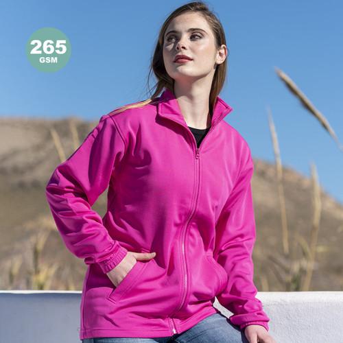 Jacheta unisex cu fermoar pentru adulti, cu maneca lunga si cu posibilitate de personalizare corpoarte