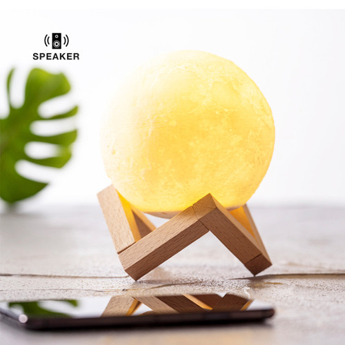 Moon shaped Bluetooth speaker   GoodieBags