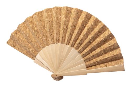Kasol, evantai din pluta naturala si lemn, cu posibilitate de personalizare corporate