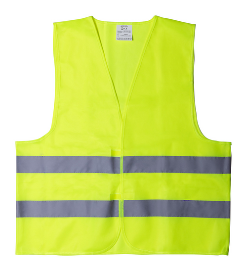 Polyester visibility waistcoat | Goodiebags
