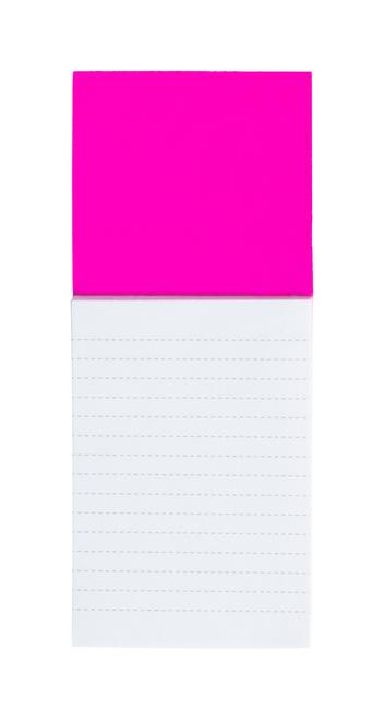 Sylox, magnet de frigider colorat, cu bloc notes de 40 de coli si cu posibilitate de personalizare corporate