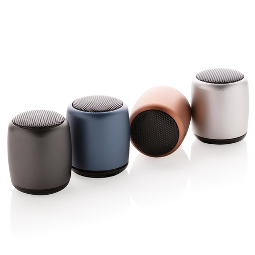 aluminium 3W wireless speaker