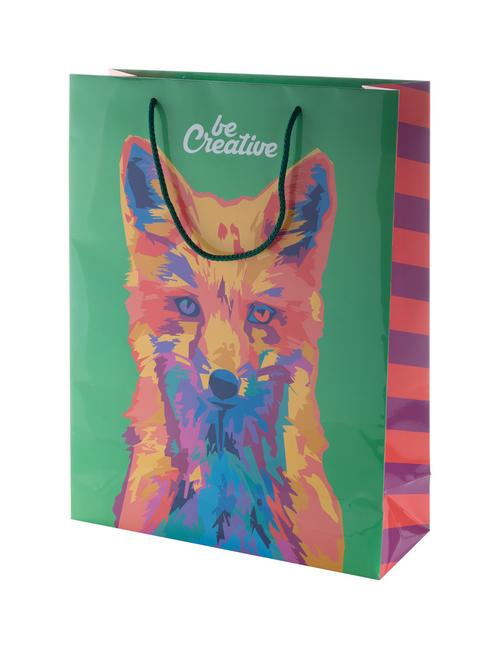 Creashop L - custom made paper shopping bag, large