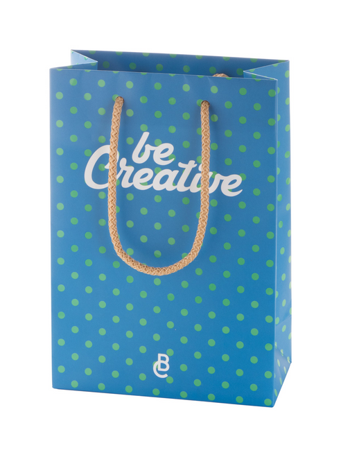 Creashop S - custom made paper shopping bag, small