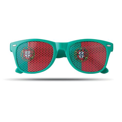 Flag Fun, ochelari de soare in culorile diferitelor drapele nationale, cu posibilitate de personalizare corporate