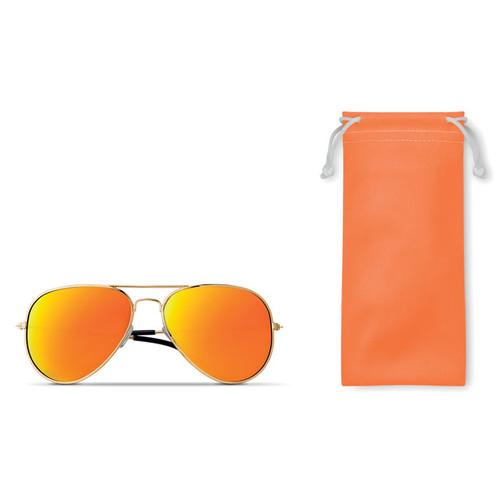 Malibu, ochelari de soare cu rame metalice argintii si lentile disponibile in 5 culori, cu posibilitate de personalizare corporate