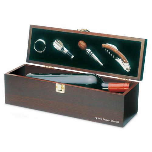 Costieres, set accesorii vin in cutie cadou cu posibilitate de personalizare corporate