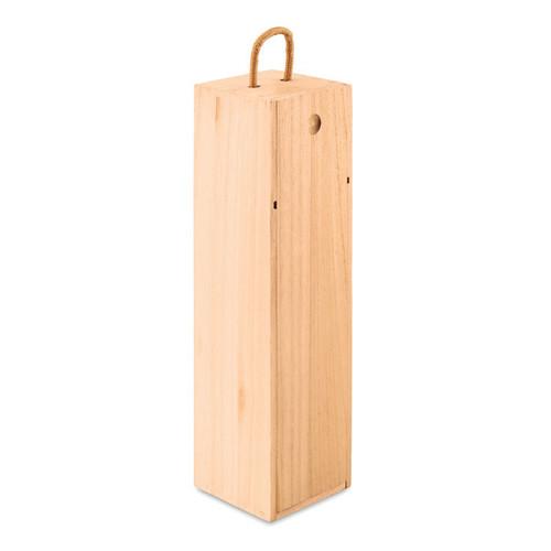 Vinbox, cutie de vin din lemn de paulownia, cu posibilitate de personalizare corporate