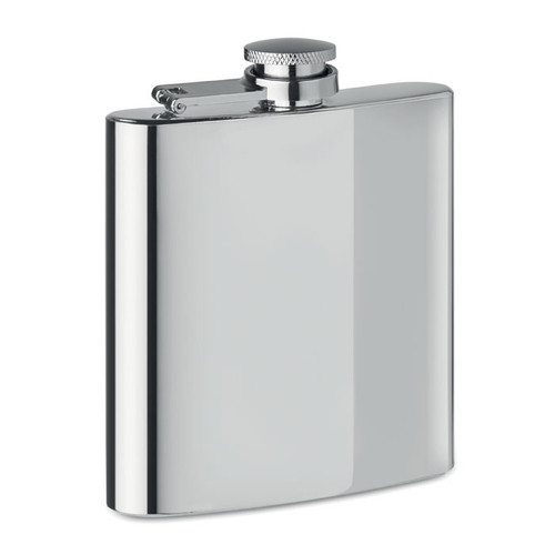Slimmy Flask plus, sticla plata cu capacitate de 175 ml si cu posibilitate de personalizare corporate