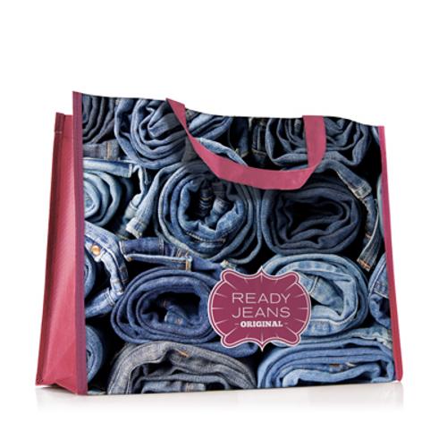 Custom made shopping bags