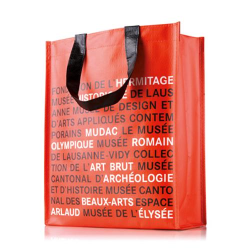 Vertical custom made shopping bag