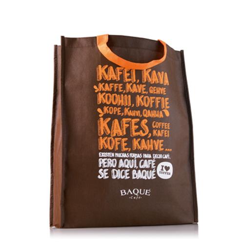 Custom made shopping bag