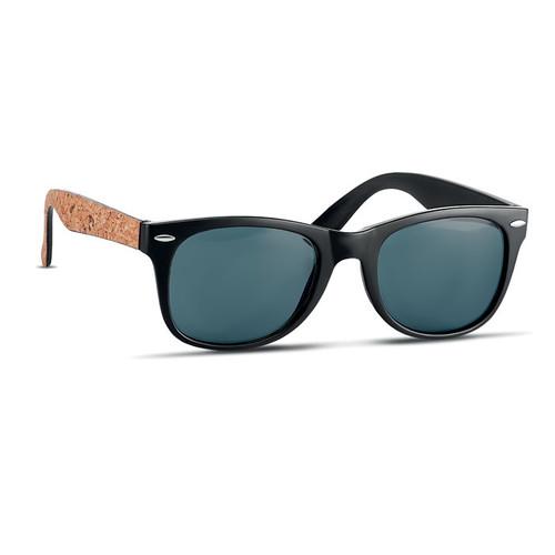 Paloma, ochelari de soare clasici si eleganti cu brate din pluta si cu posibilitate de personalizare corporate