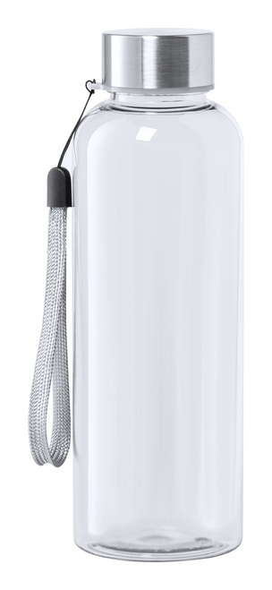 Rizbo, sticla sport din Tritan, fara BPA, cu capac din otel inoxidabil, curea de transport si posibilitate de personalizare corporate