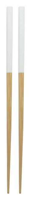 Sinicus, 2 betisoare de bambus cu capete vopsite si cu posibilitate de personalizare corporate